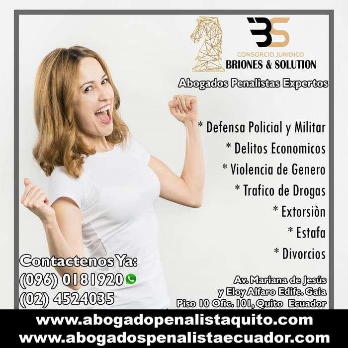 Abogado Penalista, Extorsión, Estafa, Violación, Drogas, Violencia de Genero, Penal Experto - Dr. Wladimir Briones