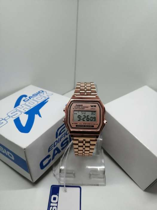 Reloj <strong>casio</strong> Clasico Vintage Oro Rosa?
