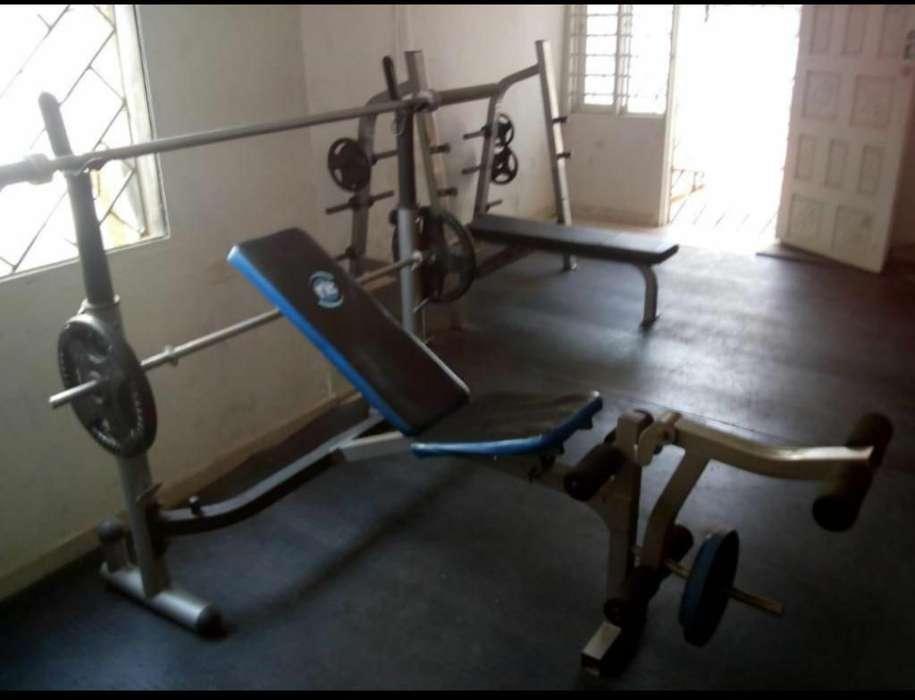 Banco de Pesas Gym..multifuncional