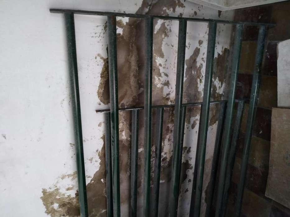 Rejas de caño para <strong>ventana</strong>s.