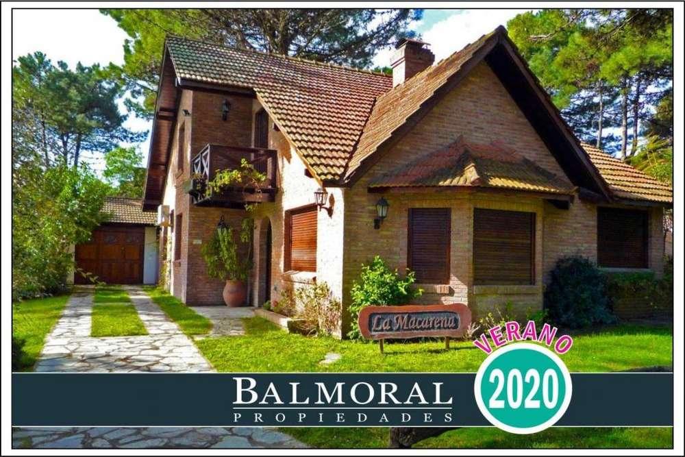 Ref: 8881 - Casa en alquiler, Pinamar, Zona Lasalle