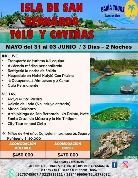 Tour Tolu Coveñas Junio