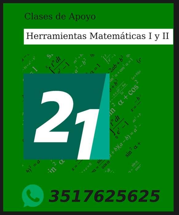 Matemática universidad Siglo 21. Clases de apoyo.