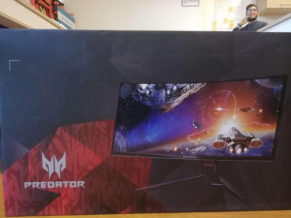 Monitor gaming acer predator x34 Ultra wide con garantia