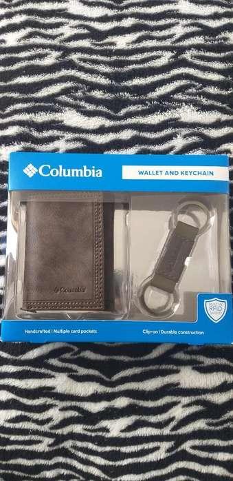 Billetera Original Columbia con Llavero