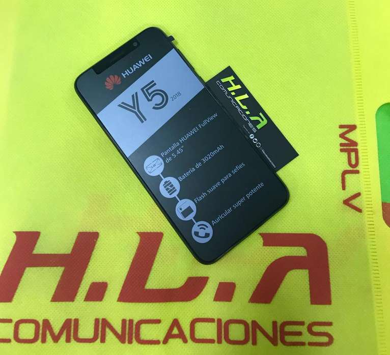 Huawei Y5 2018 4G nuevos factura garantia domicilio sin costo HLACOMUNICACIONES