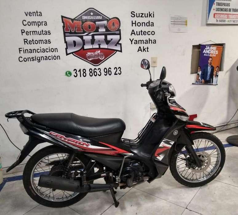 Yamaha Crypton Modelo 2012
