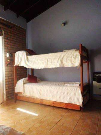 ao65 - Cabaña para 4 a 9 personas con pileta y cochera en Villa De Merlo