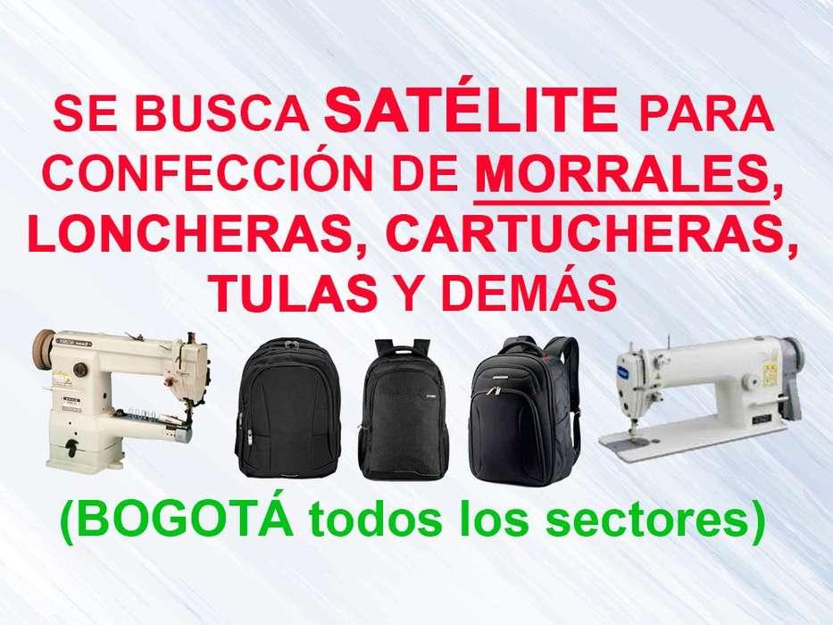 Se Busca Satélite para confección de Morrales, Loncheras, Cartucheras y demás