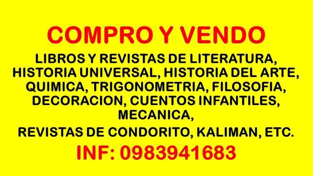 COMPRA, VENTA CONSIGNACION LIBROS NUEVOS Y USADOS