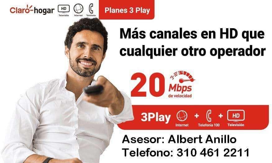 CLARO HOGAR TRIPLE PLAY