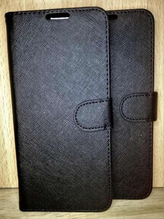 Estuche Ejecutivo librito Tapita Flip Cover porta Tarjeta Motorola G7 G7 Plus G7 Play G7 Power