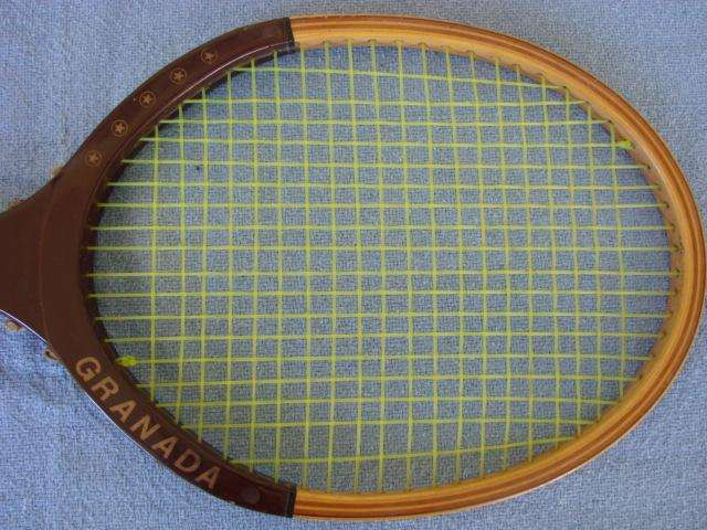Antigua Raqueta de Tennis Lincoln Granada Industria Argentina Sin Uso