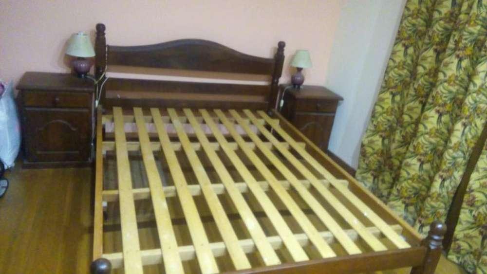 Juego <strong>dormitorio</strong> 2 Plazas Algarrobo