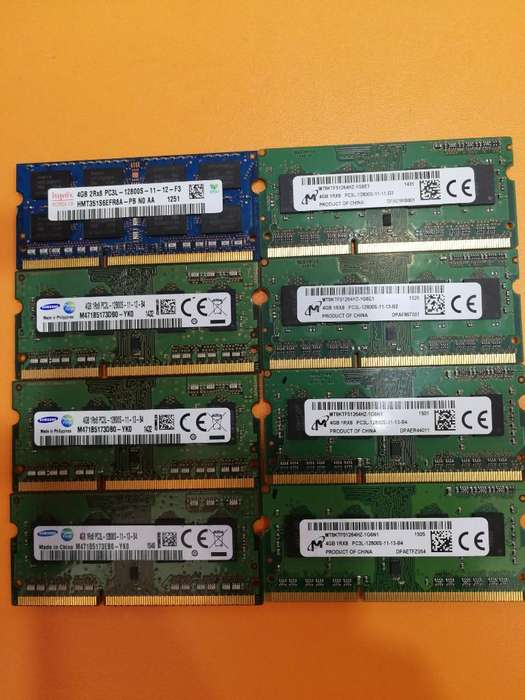 Memoria Ram so Dimm Ddr3 4gb Laptop Pc