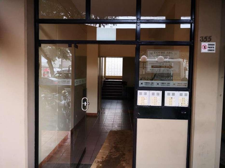 Alquiler Oficina-Departamento Miraflores 80m2