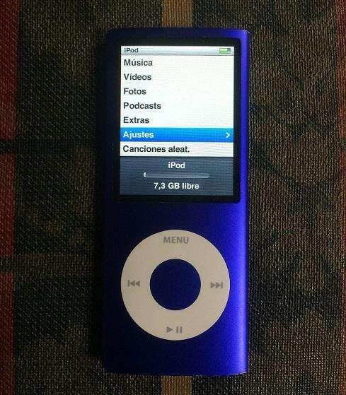 <strong>ipod</strong> Nano 4ta Generación 8GB