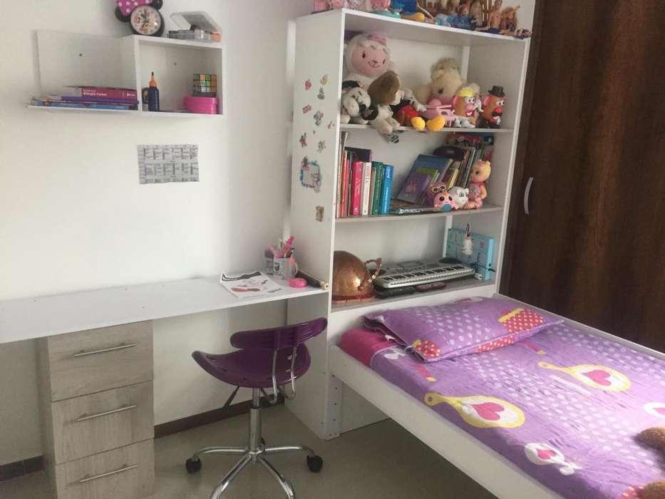 Modular infantil incluye cama biblioteca y escritorio