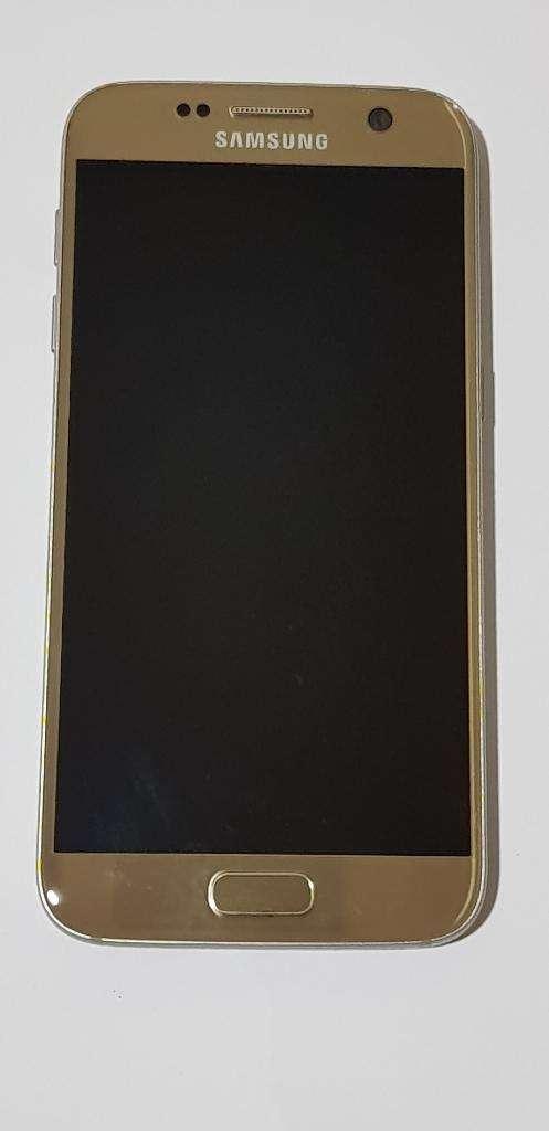 Samsung S7 Flat Gold Platinum 32 Gb