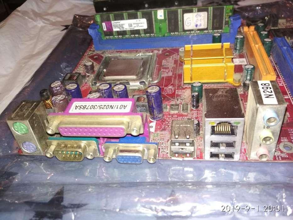 Combo Intel Pentium 1,8ghz Y <strong>memoria</strong> Ram