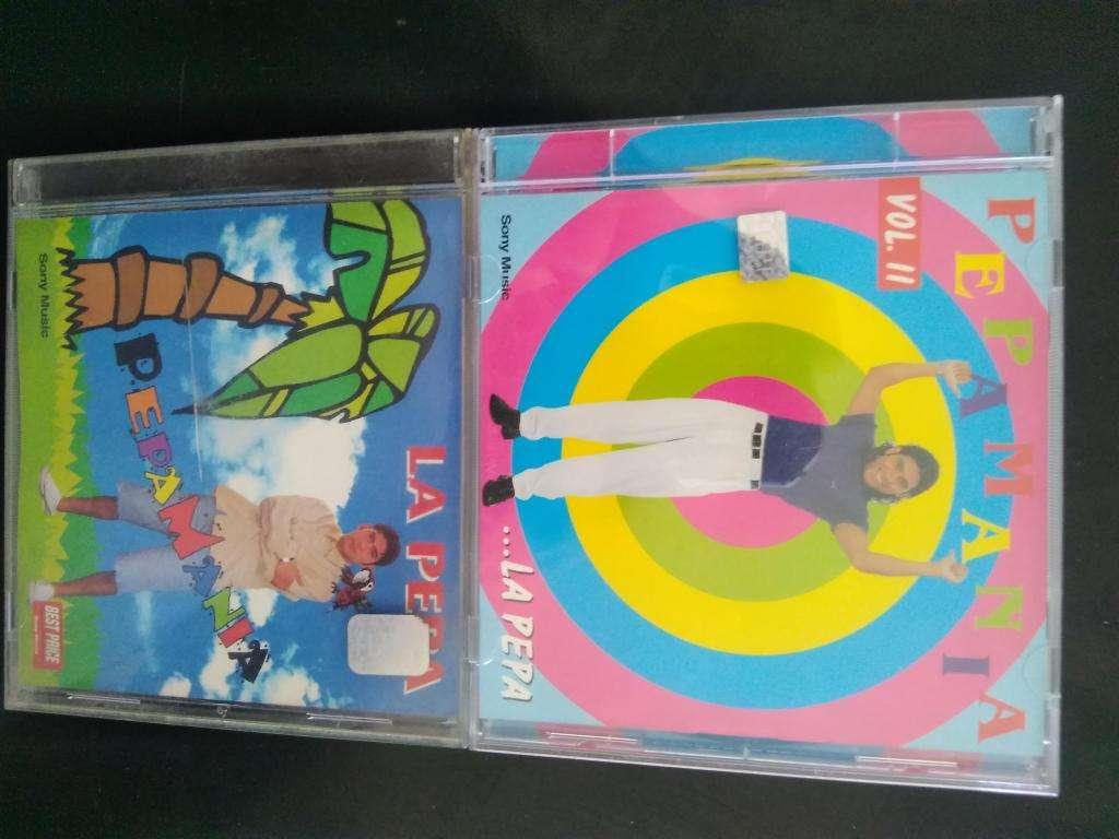 PEPAMANIA CD NUEVOS Y ORIGINALES