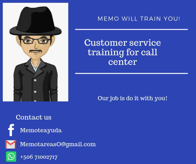 Customer service training for call center