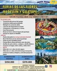 Tour Feria de Las Flores 8 de Agosto