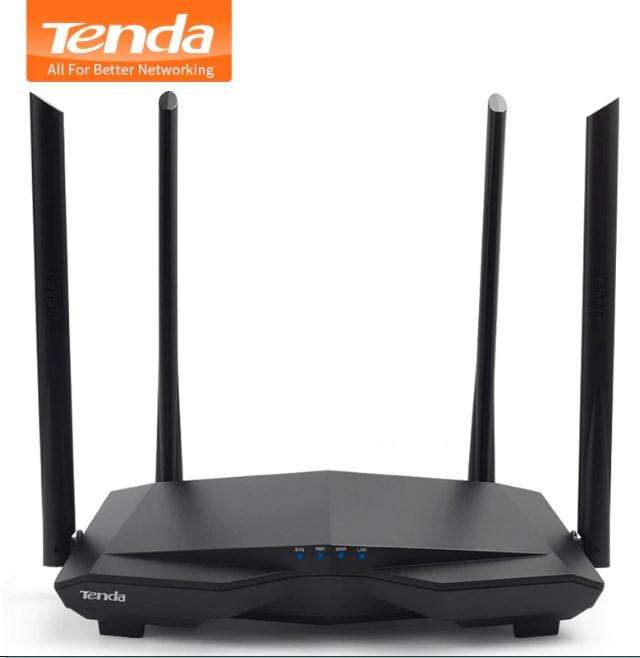 Router repetidor Tenda AC6 1200Mbps Wireless Wifi Smart DualBand, WISP Mode / Control Parental