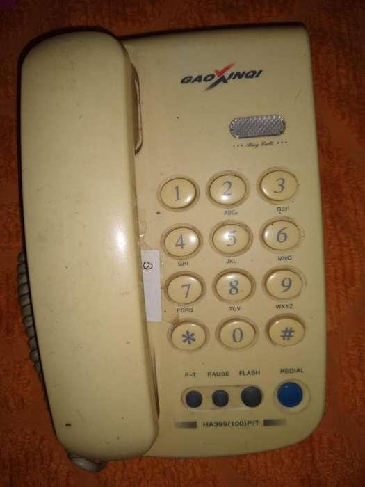 Teléfono Gaoxinqi ja399(100)p/t de mesa no funciona