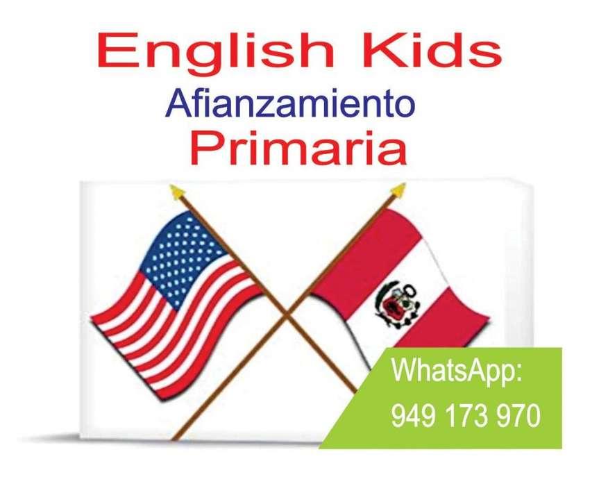 CLASES DE INGLES - AFIANZAMIENTO - PARA PRIMARIA