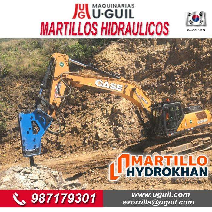 MARTILLOS HIDRÁULICOS MARCA HYDROKHAN