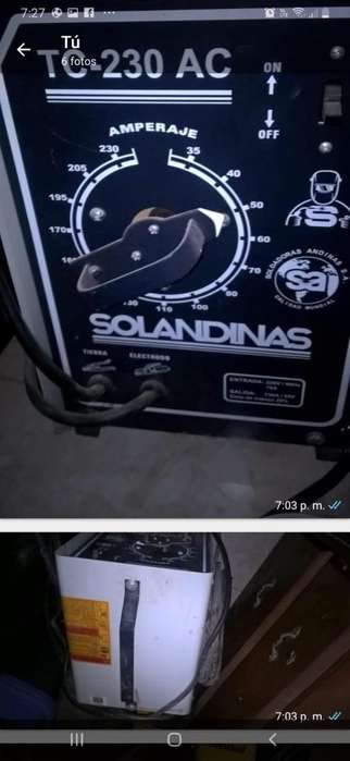 Maquina de Soldar Solandinas