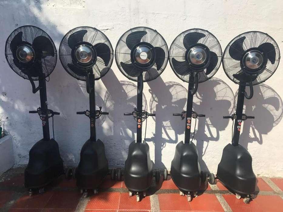 Alquiler de ventiladores industriales y aires