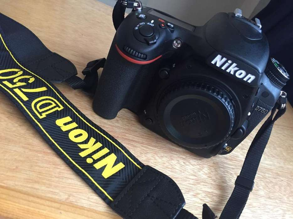 Nikon D750 Nueva
