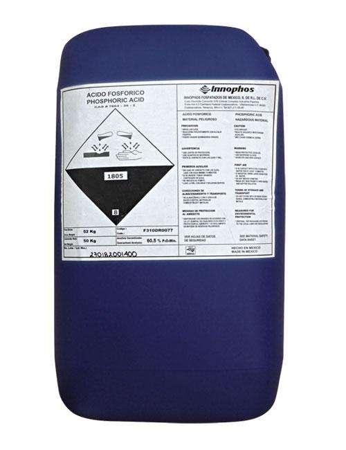 Ácido fosfórico 85% (Envase de 1Kg)