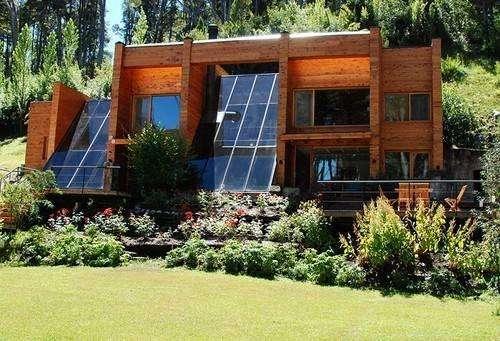 uu28 - Cabaña para 2 a 7 personas con cochera en Villa La Angostura