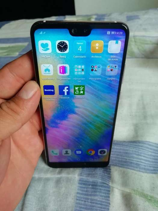 Vendo Huawey P 20 Normal de 128 Gigas