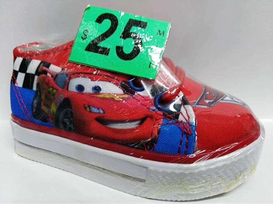 Zapatos para niños 18y20 Jho930Cars Mira Mami
