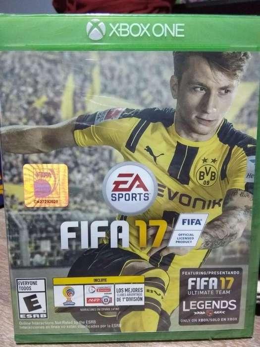 Fifa 2017 Para Xbox One, En Caja Sellada, Formato Físico, quilmes oeste