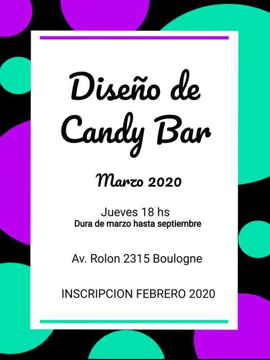 CURSO DE DISEÑO DE CANDY BAR