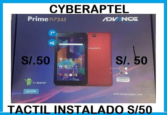 tactil tablet advance pr 7545