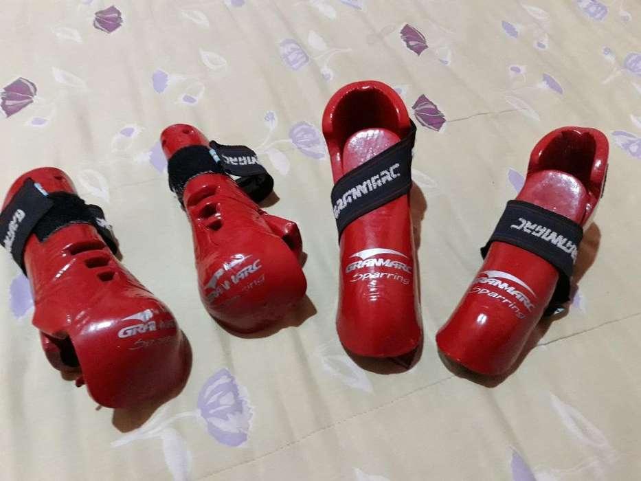 Protectores para Taekwondo Nuevos