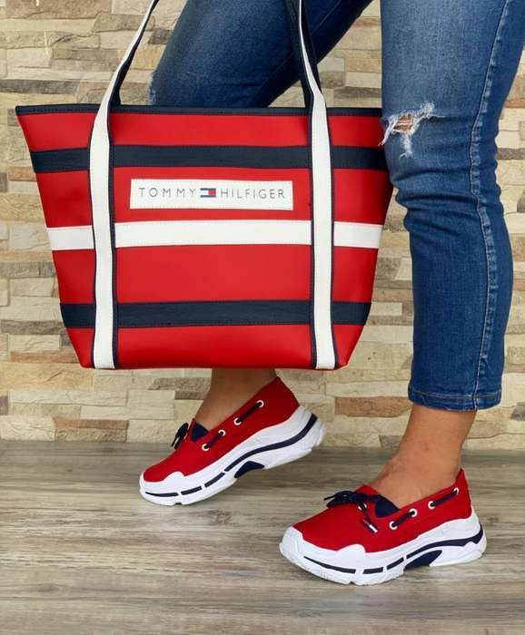 Combo Dama Tommy Hilfiger Zapatos Cal