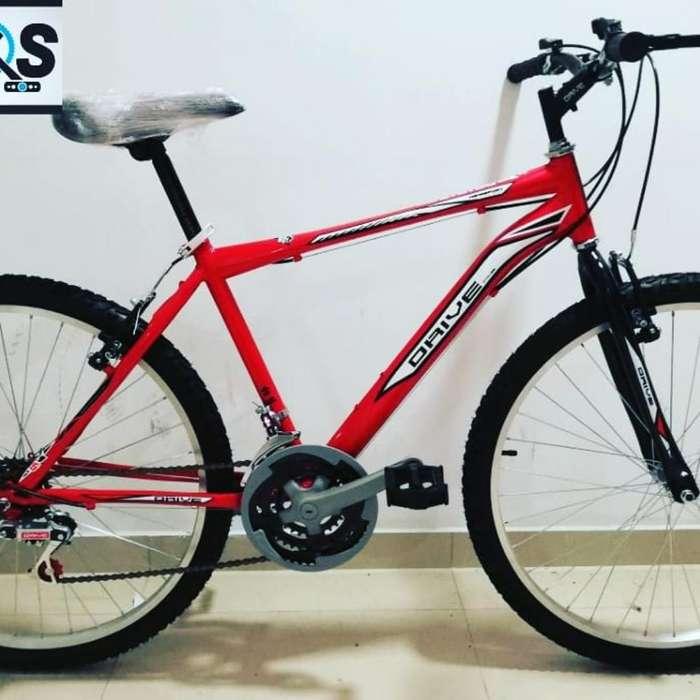 Bicis Drive Hierro Rin 26