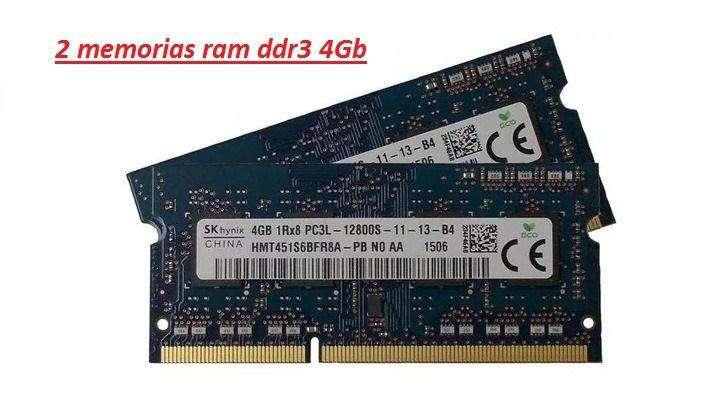 2 RAM DDR3 hynix 8gb NUEVAS PC_ PORTATIL