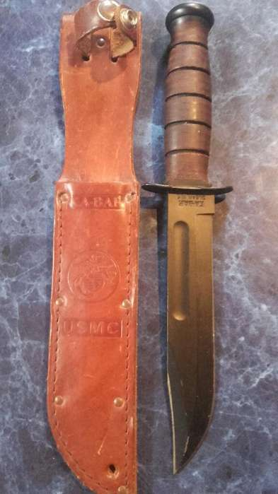 Ka -bar Cuchillo