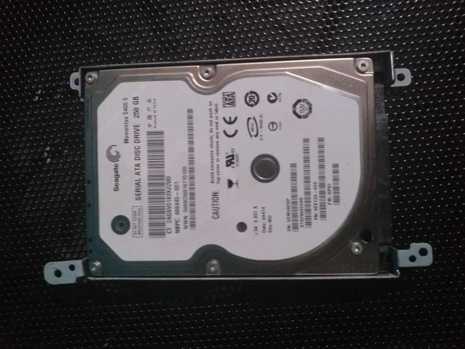 Disco Duro Hdd de 250 Gb