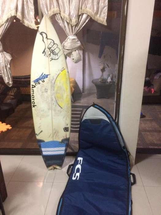 Tabla de Surf Talla 5.10 Y Forro 6.3