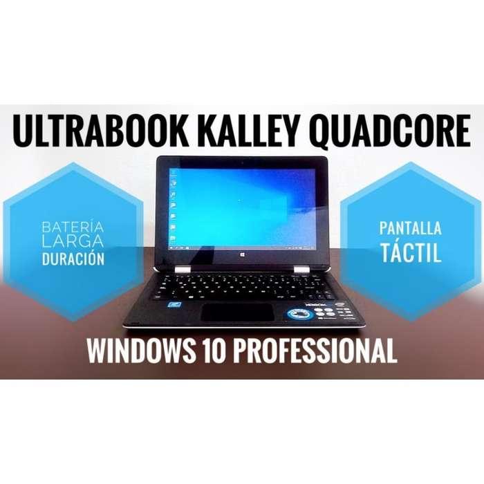 Ultraportátil 2 en 1 Táctil Quadcore