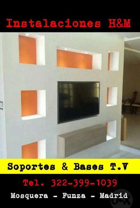 Instalacion de Soportes en Funza Cund.